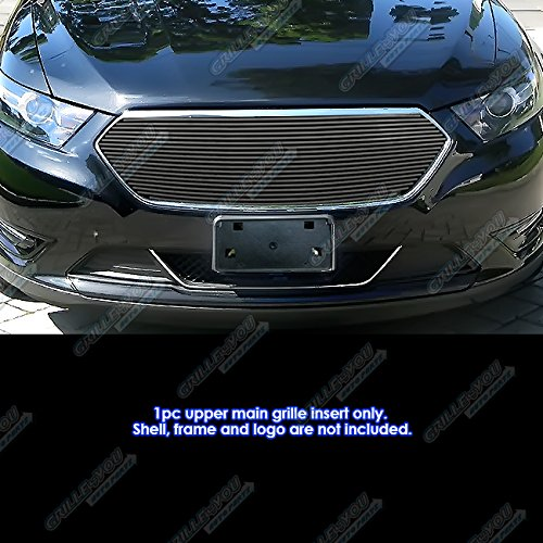 - APS Compatible with 2013-2019 Ford Taurus SHO Logo Cover Black Billet Grille F65937H