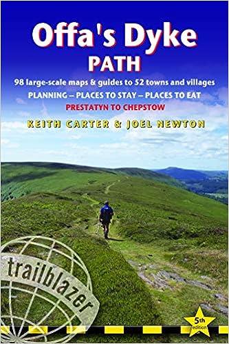 Offa's Dyke Path Guidebook (Trailblazer)