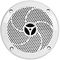 Monoprice 108555 UV Resistant 6-1/2 Inch 2-Way Marine Speaker - Set of 2