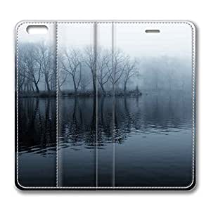 iPhone 6 Plus,Brain114 iPhone 6 Plus [5.5] case,iPhone 6 Plus leahter,leather case for iPhone 6 Plus,Fashion Book Style Design Wallet leather Case Cover for iPhone 6 Plus 5.5 inch Lake 15