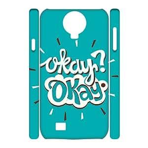 I-Fponec Cell phone Samsung Galaxy S4 i9500 Cases Okay Hard 3D Case HMK050704