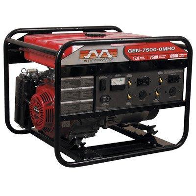 Mi-T-M GEN-7500-0MH0 Gasoline Generator, 7500W Maximum AC Output