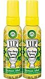 Air Wick VIP Pre-Poop Spray, Lemon Idol, 2x1.85oz