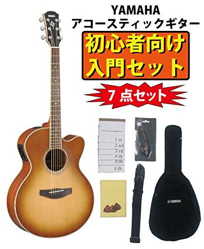 YAMAHA ヤマハ エレアコギター CPX700Ⅱ SDB サンドバースト 初心者7点セット  サンドバースト(SDB) B078MYL6XL