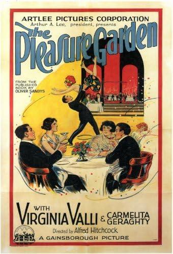 Amazon.com: The Pleasure Garden Poster Movie 11x17 Virginia Valli ...