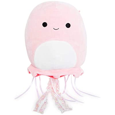 Squishmallows 8 Inch Pink Jellyfish: Home & Kitchen