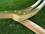 Solid Cypress Wood Arc Hammock Stand ...