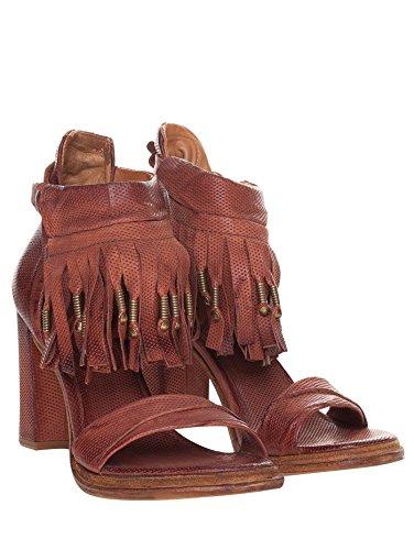 A.S.98 - Sandalias de vestir de Piel para mujer Marrón marrón
