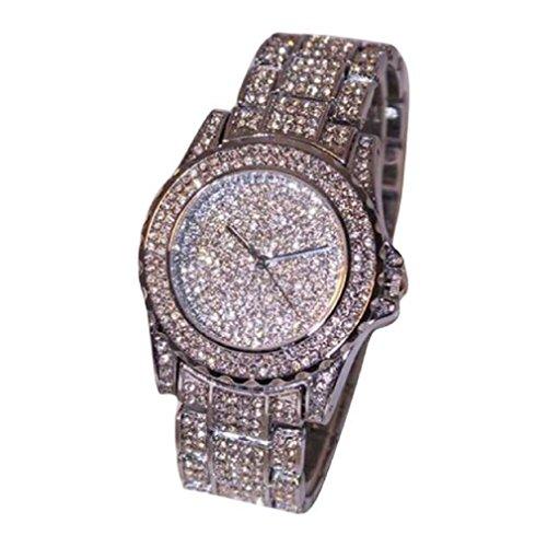 Women Watches, DKmagic Fashion Rhinestone Ceramic Crystal Quartz Watches Lady Wrist Watch (Polar Blood Pressure Watch)
