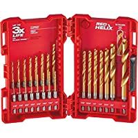Milwaukee 23-Piece Titanium Shockwave Drill Bit Kit