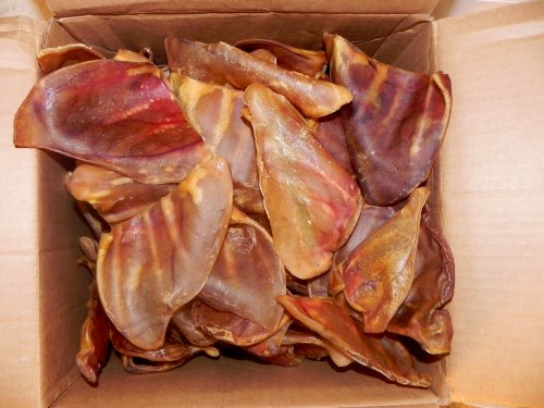 123 Treats Pig Ears for Dogs | Quality Pork Dog Chews 100% Natural Pork Ears Full of Protein for Your Pet (Brazil, 30 Count) by 123 Treats (Image #1)'