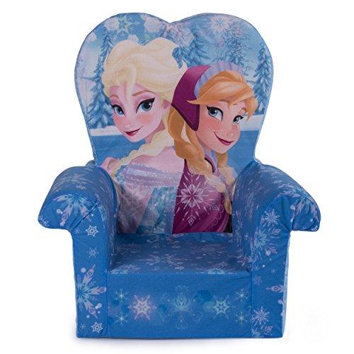 Marshmallow Furniture, Children's Foam High Back Chair, Disney Frozen, by Spin Master]()