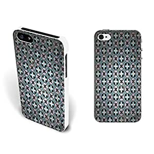 Artistic Style Clustering Pattern Hard Case Cover for Iphone 5/5s (floral fy0764)