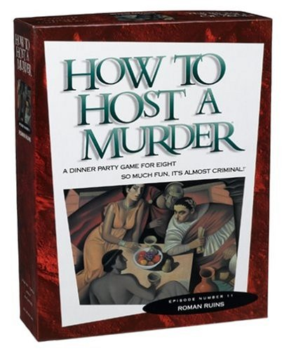 [How to Host a Murder - Roman Ruins] (Murder Mystery Dinner Costume)