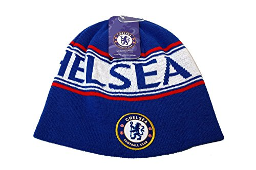 CHELSEA FC SOCCER REVERSIBLE BEANIE by Chelsea F.C.