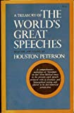 Treasury of the World's Great Speeches, Houston peterson, 0671212230
