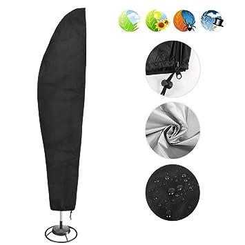 Sonnenschirmabdeckung Abdeckung Schutzhülle für Schirme mit einem Ø von 2m