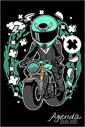 Agenda Scolaire 2020 2021: Moto   Agenda semainier, Format A5
