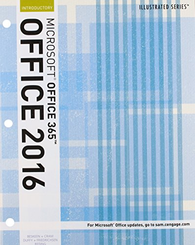 1337250759 - Illustrated Microsoft Office 365 & Office 2016: Introductory, Loose-leaf Version (Illustrated Series)
