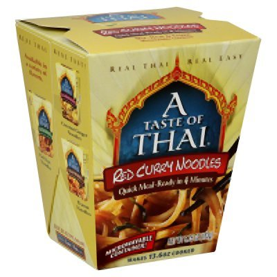 Quick Meal Noodles (Taste Of Thai Red Curry Quick Meal Noodles 5.75 Oz (Pack of 6))