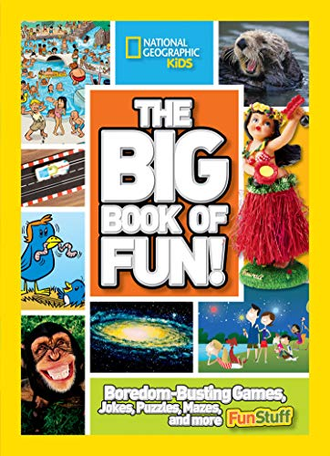 The Big Book of Fun!: Boredom-Busting Games, Jokes, Puzzles, Mazes, and More Fun Stuff