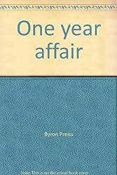 One year affair