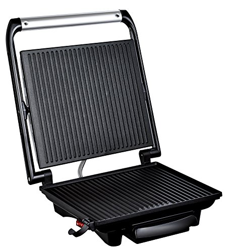 -[ Tefal GC241D40 Inicio Grill, 2000 W, Stainless Steel  ]-