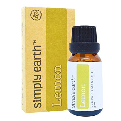 Lemon Essential Oil by Simply Earth - 15 ml, 100% Pure Therapeutic Grade (Natural Scotch Guard compare prices)