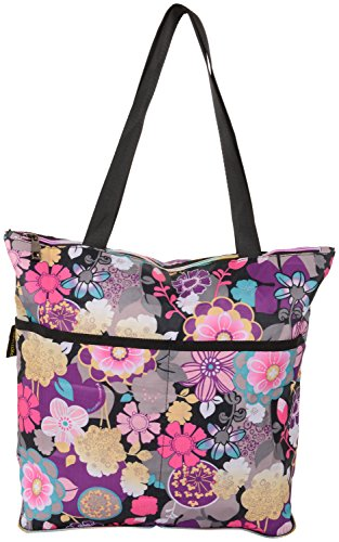 SurprizeMe Women's Shoulder Bag (Multicolour, SUPM-BAG-FOLD-SHOPPING-FLWR)