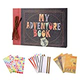 My Adventure Book Scrapbook Photo Album Pixar Up Handmade DIY Photo Album Family Wedding Anniversary Scrapbooking Album
