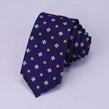 KYDCB Corbata de los Hombres Corbata Delgada 6Cm Corbata ...