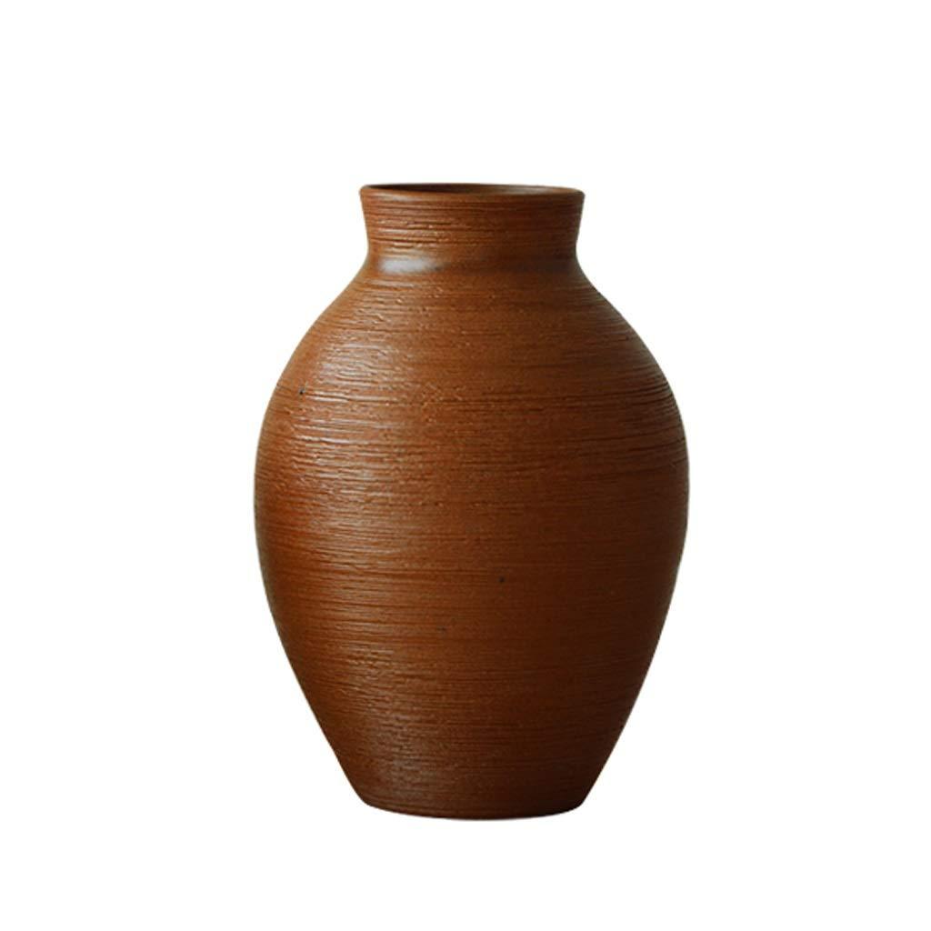 LIULIJUN 北欧錬鉄製のセラミック花瓶ホームリビングルームの装飾クリエイティブモダンな家具 B07T7DFPZN