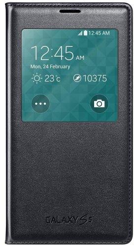 Samsung EF-CG900BBEGWW - Galaxy S5 S View Cover (W/receptor ...