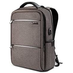 Inateck Laptop Backpack with USB Chargin...