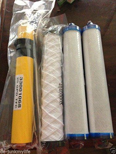 Original Hydrotech RO Reverse Osmosis Filters Cartridges 25 GPD Membranes Set 25 Gpd Membrane