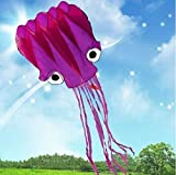 5M Large Octopus Parafoil Kite with Handle & String Outdoor Park Garden Games