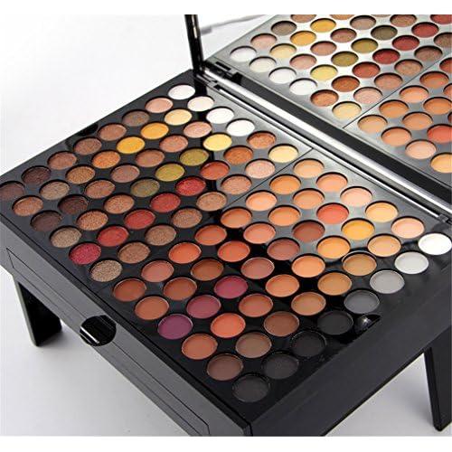 1122e3a6d Pure Vie® 180 Colores Sombra De Ojos Corrector Rubor y Brillo de Labios  Paleta de