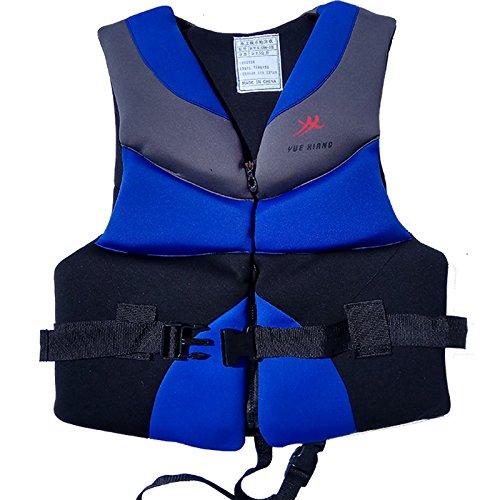 ライフジャケット水着ポリエステルLifeベストColete salva-vidas forウォータースポーツ水泳ドリフトサーフィン   B073TWT7P3