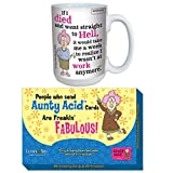 Best CloseoutZone Auntie Coffee Mugs - (Set) Aunty Acid Work Is Hell 16 oz Review