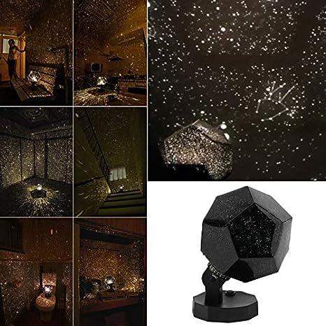Lámpara de proyección LED Planetario Proyector Cosmos Luz Lámpara ...