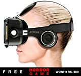 Procus PRO (Black) VR Headset - 100-120 Degree FOV with Highest Immersive Experience - Inbuilt Headphones