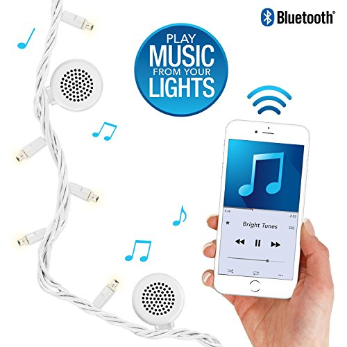 Bluetooth Speaker String Lights Delectable Amazon Bright Tunes Decorative String Lights With Bluetooth