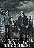 "Ata-Boy Supernatural Season 9 2.5"" x 3.5"" Magnet"