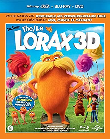 Dr. Seuss - Le Lorax [Blu-ray + Blu-ray 3D + DVD]: Amazon.es: Cine y Series TV