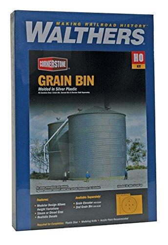 Walthers Cornerstone HOスケールBig Grainストレージビン構造キット