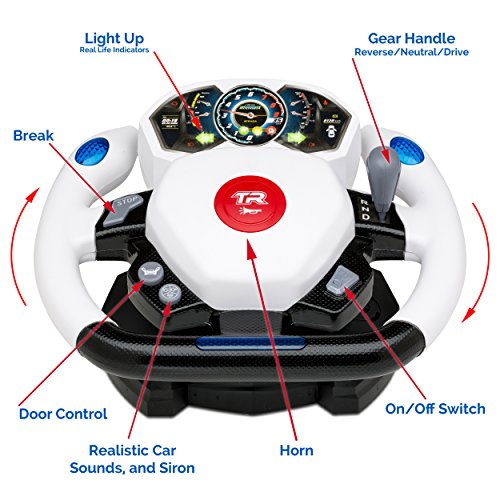 Kids RC Toy Sports Car Transforming Robot Remote Control