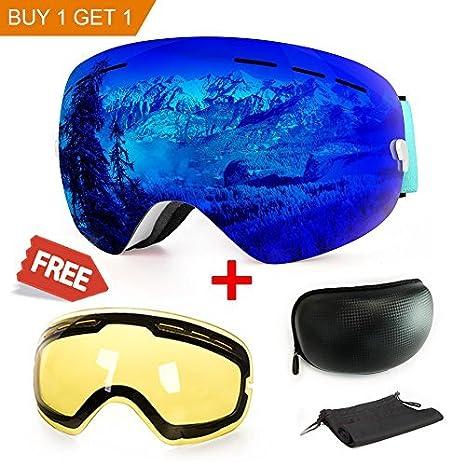 b8eb78eb3a1a Amazon.com   Extra Mile Ski Goggles