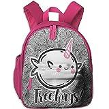 Cute Narwal Unicorn School Book Bag Cute Shoulders Bags Backpack Bag For Girls Boys