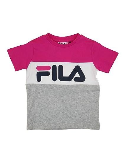 fa26be5314057 Fila Kids Classic Day Blocked Tee