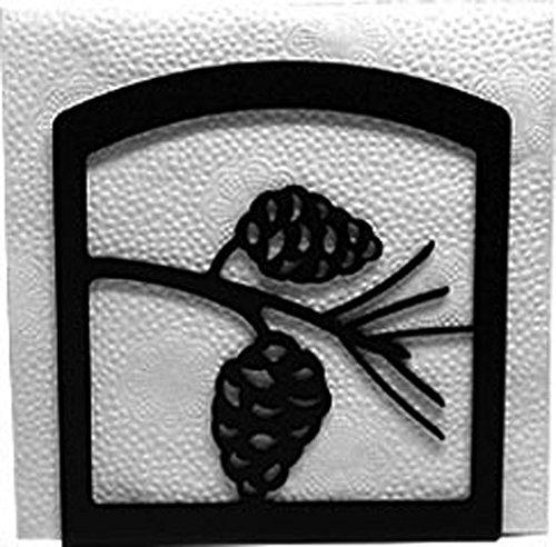 (Wrought Iron Pine Cone Napkin Holder)